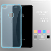 Ultra Thin Transparent Soft TPU Phone Case Back Cover For Huawei P8 Lite 2017/ Honor 8 Lite