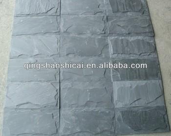 Ardesia nera texture dimensione si sentono naturale rivestimenti