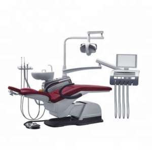 DC22 Luxury Real Leather Dental Chair On Sale / Dentistry chair for Left Hand Operation /China Dental Chair Instrument