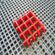 China manufacturer fibreglass reinforced Borden kick plate gutter grating