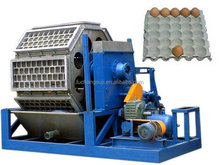 Egg tray machine with dryer