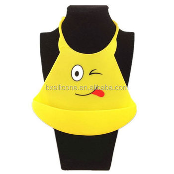 Design new coming for wholesale nice silicone baby bibs