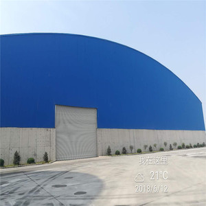 steel space frame structure metal steel storage used industrial shed design for sale
