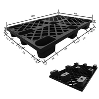 Light Duty HDPE Standard Durable Nestable Plastic Pallet Price in China