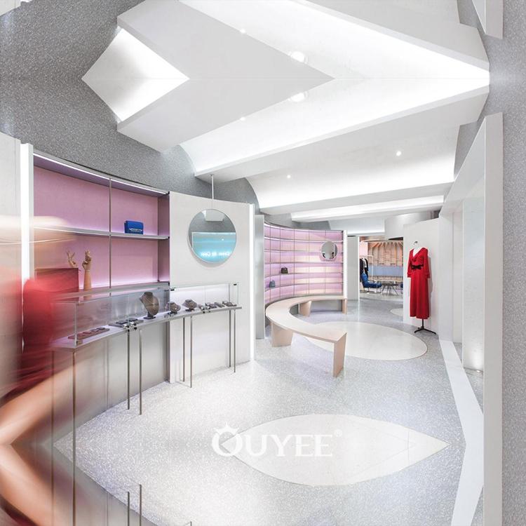 Modern Store Furniture Shoes Display Showroom Design New
