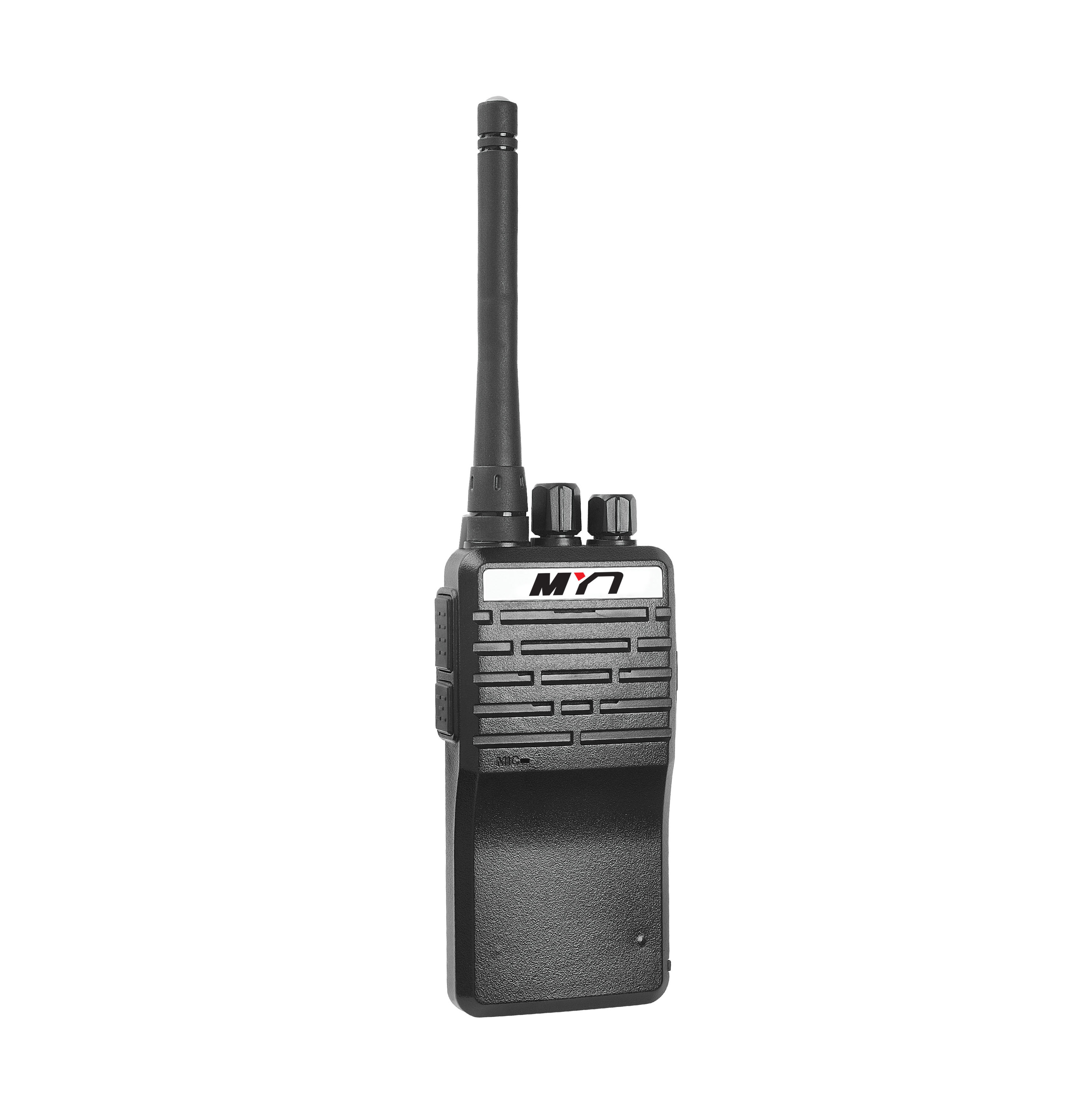 MYT-A6 small smart 2 way radio ptt ani ID code walkie talkie for <strong>communication</strong>