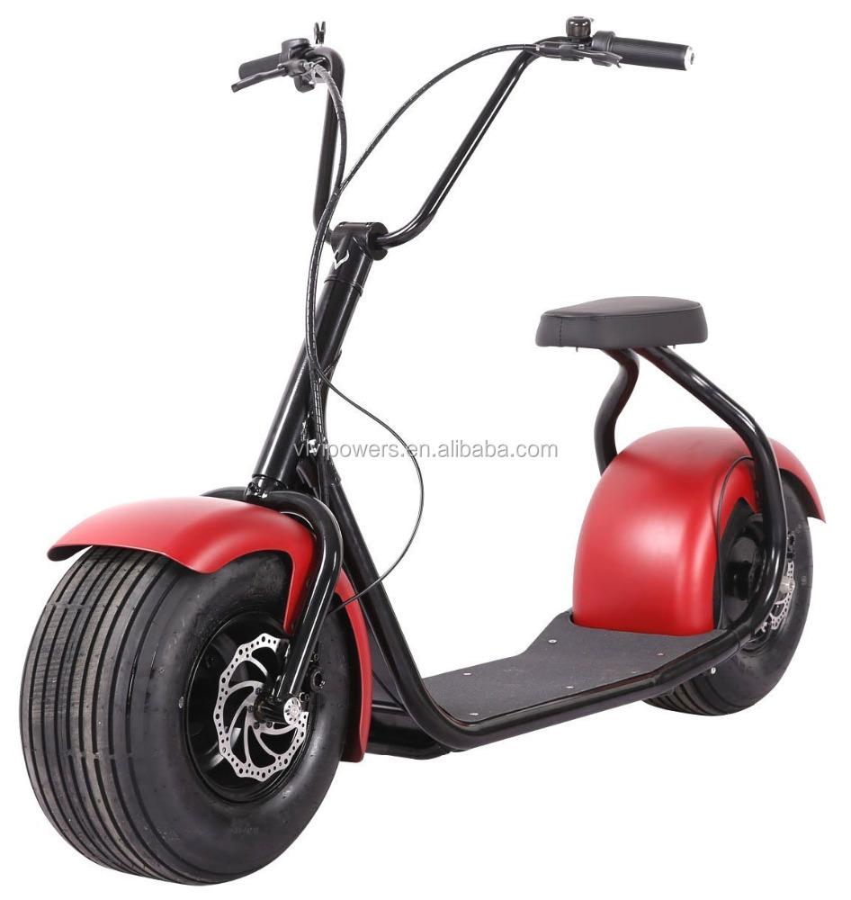 Electric Big Wheels Fat Tire Scooter with 1500W