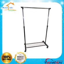 BD-H101NB Free standing adjustable clothes rack parts