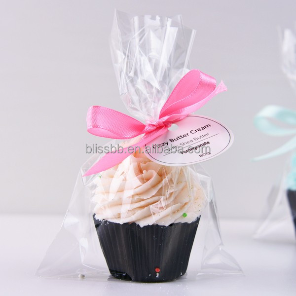 Private Label Bath Bombs Pretty Cupcake Bath Bombs Round For Spa Bath Bombs-Double Moisturizing
