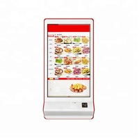 TFT Modernized self service terminal with Photo Printer AD Player LCD Digital desktop
