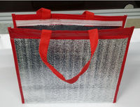 Thermal insulated picnic tote cooler bag