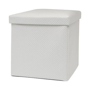 Fantastic Pvc Leather Ottoman Storage Box Pouf White Buy Pouf White Storage Box Storage Container Product On Alibaba Com Dailytribune Chair Design For Home Dailytribuneorg