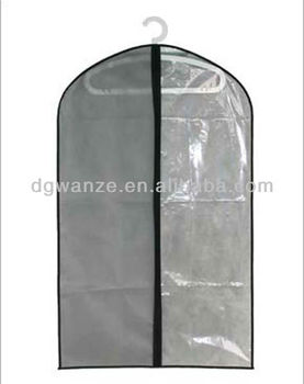 Custom Clear Garment Bags With Pockets Factories In China