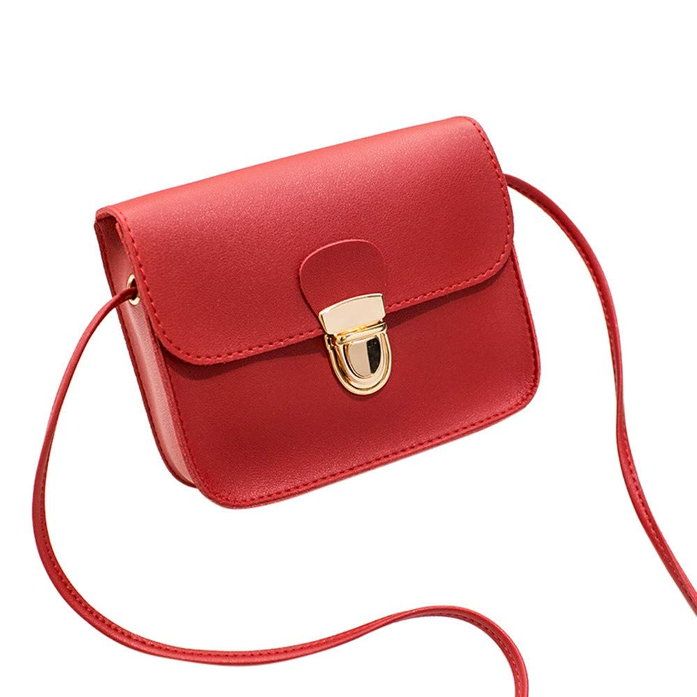 Liraly Women Bags,Summer Clearance Sale! 2018 Women Fashion Solid Color Cover Lock Shoulder Bag Crossbody Bag Phone Bag