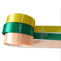 Top Quality Fabric Ribbon Factory Price Sanding Satin Ribbon 100% Polyester