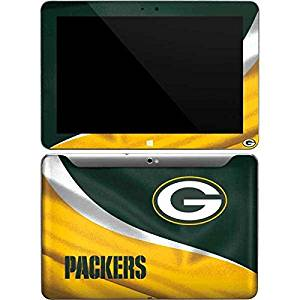 NFL Green Bay Packers Galaxy Tab 10.1 Skin - Green Bay Packers Vinyl Decal Skin For Your Galaxy Tab 10.1