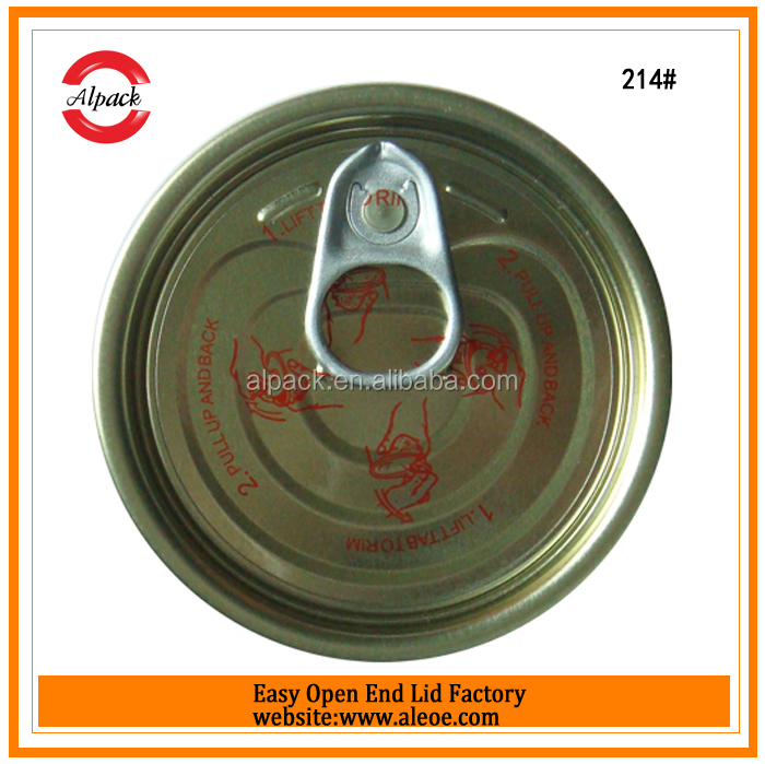 Alibaba china tin can easy open ends for vietnam honey