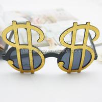 Pimp Costume money one dollar sunglasses FGGS-0174