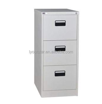 2018 Iron Sliding Drawer Filing Cabinet 3 Drawer Filing Cabinet