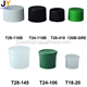 Factory supply high quality plastic bottle lid flip top cap closure low price PP material plastic cap