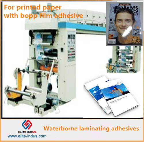 dry laminating machine glue for paper with bopp film