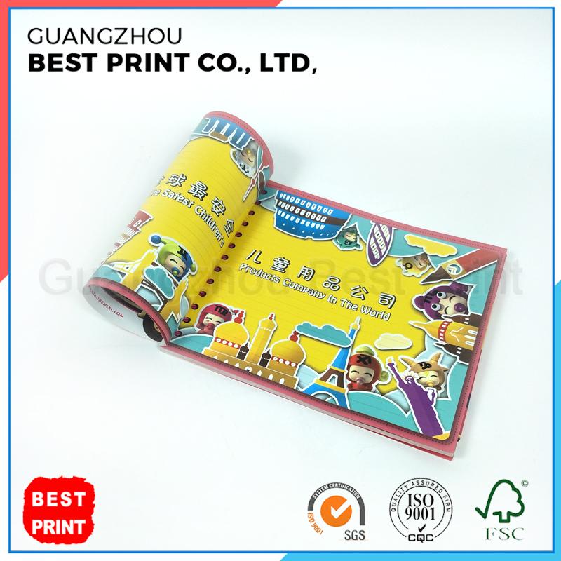 Comic bolsillo personalizado bordo niño barato impresión de libros ...