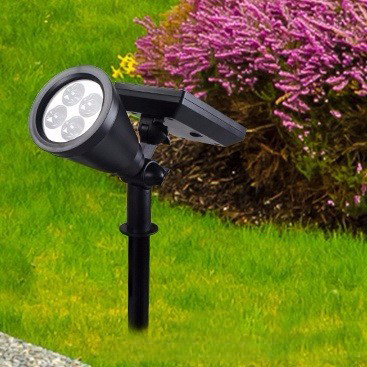 de moda led panel de luz solar para el jardn al aire libre