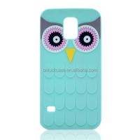 Hot Stylish 3D Cute Cartoon Owl Animal Soft Silicone Mobile Phone Case For Samsung S6