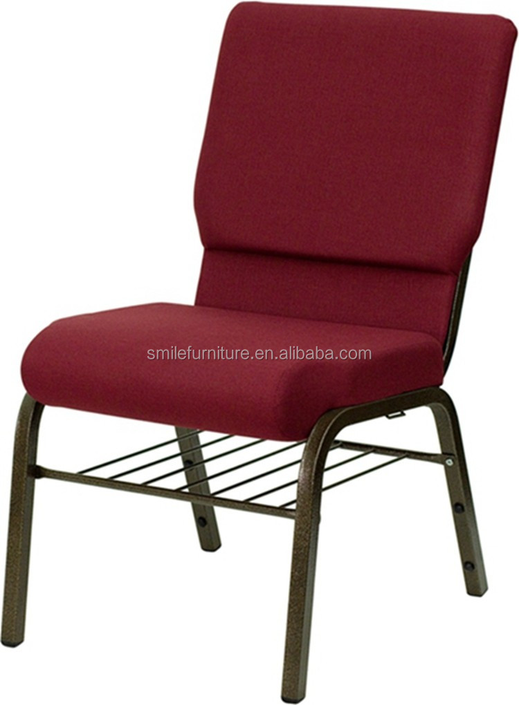 Wholesale Red Stacking Church Chairs Cheap Chair Used For