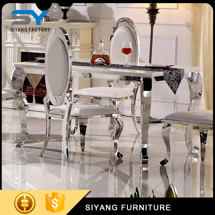 Modern furniture china plexiglass small dining table and chairs CT003