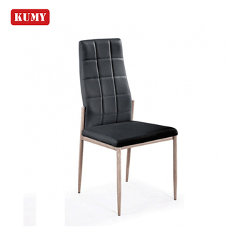 Strange Chinses Simple Chrome Iron Leg Black Chocolate Colored Leather Pu Metal Leg Modern Dining Chairs Silla De Comedor Chaise Buy Dining Table Camellatalisay Diy Chair Ideas Camellatalisaycom