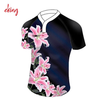 High Quality Custom Made sublimated rugby jerseys polo shirt
