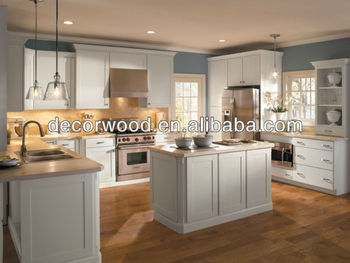 Maple Off White Color Shaker Door Kitchen Cabinet - Buy Off White ...