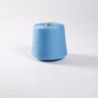 Socksyarn- recycled colored polyester spun yarn 30/1