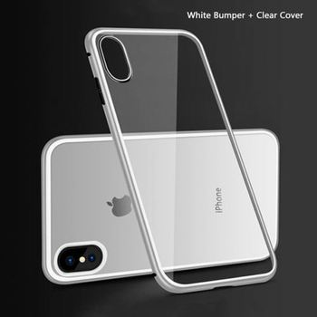 best website f624a a393b Magnetic Frame Hardness For Iphone X Metal Case With 9h Tempered Glass Back  Cover - Buy For 9h Iphone X Tempered Glass,9h Hardness For Iphone X ...