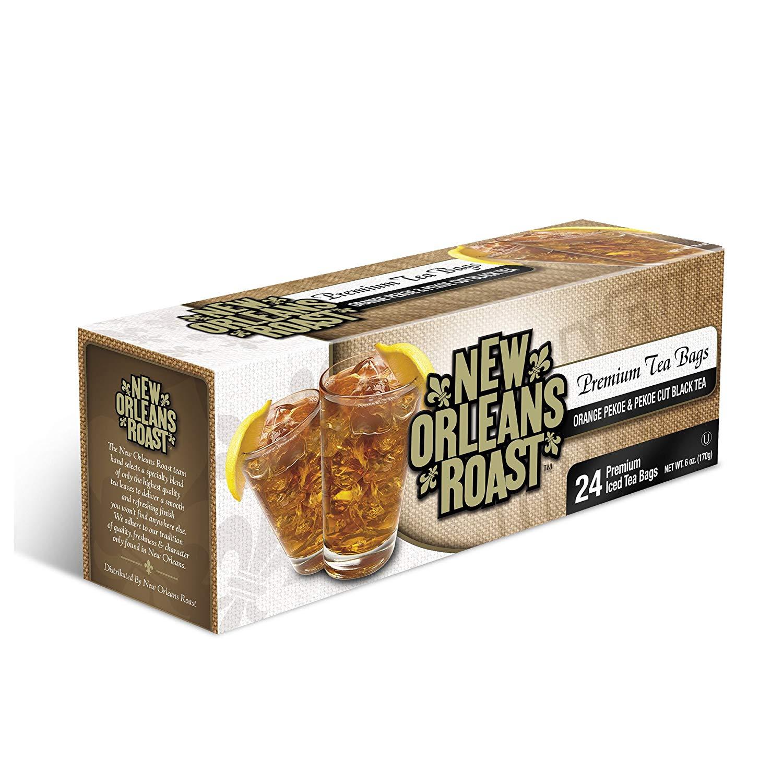 New Orleans Roast - Premium Orange Pekoe & Pekoe Cut Black Tea (PACK OF 3 BOXES OF 24 QT BAGS EACH)