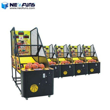 Hot Selling Arcade Street Coin Operated basketball shooting hoops game machine