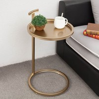 Modern Design Metal Gold Bed Side Table Coffee Table