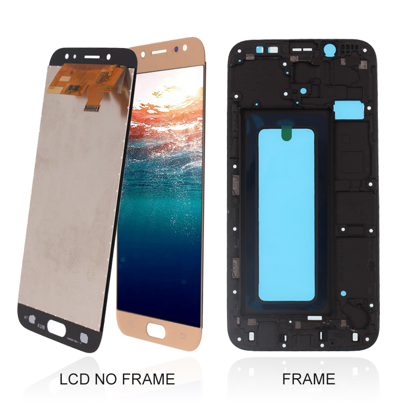For samsung J730 TFT quality lcd with frame pantallas lcd para for Samsung J7 pro