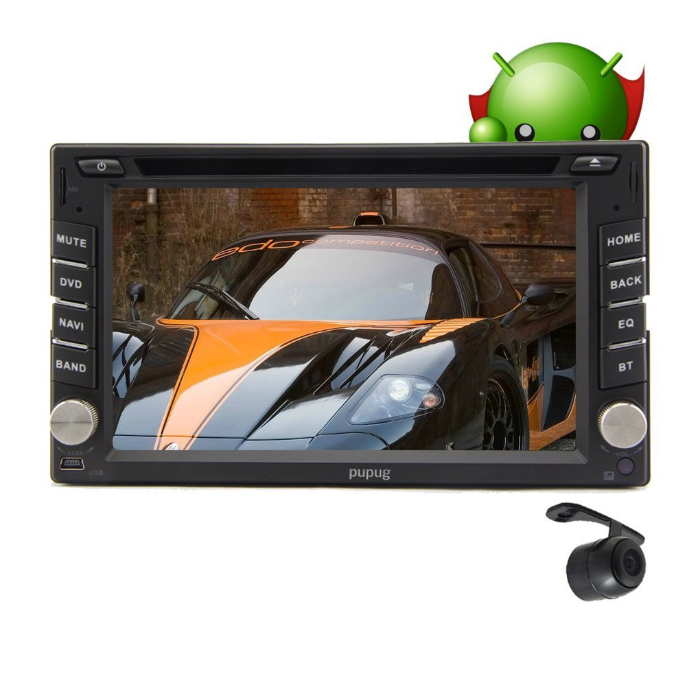 Christmas Sale!!! Vehicle Pupug Android 4.2 2G Motors 8GB Car DVD Player In Dash BT GPS Navigation Stereo 2 Din Video VCD WiFi Bluetooth TV Stereo Head 2DIN Unit Auto Radio RDS Capacitive Mult