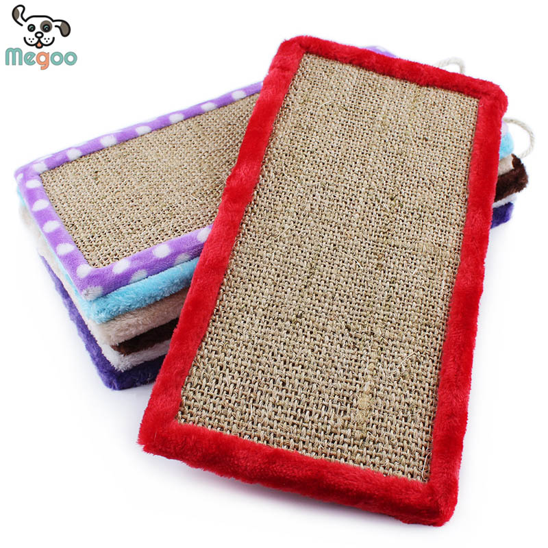 Sisal Pet Cat Scratching Board Interactive kitten Sleeping Beds