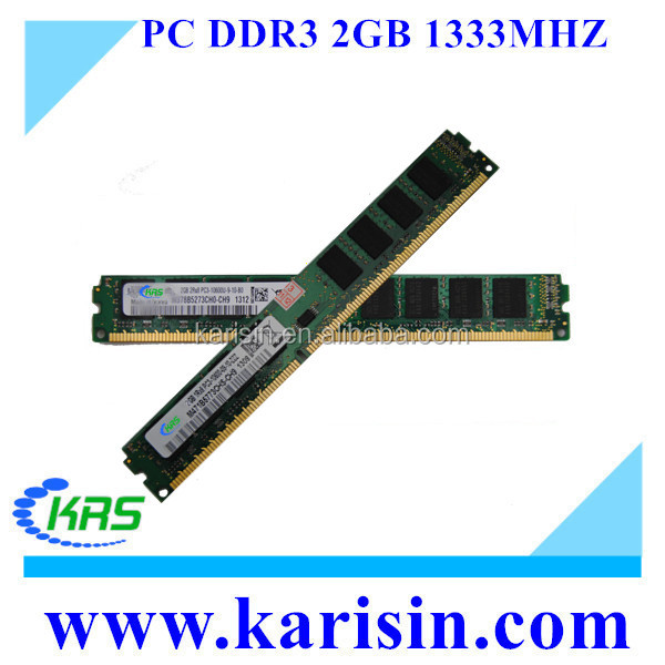 Best selling computer parts 128mb*8 ddr 3 pc2 memory 2 gb ram with ETT original chips