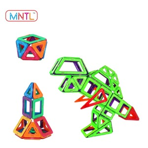 Factory Price 208Pcs Kid Magnet Blocks Education Toy 3D Building Block Bricks Construct Toy