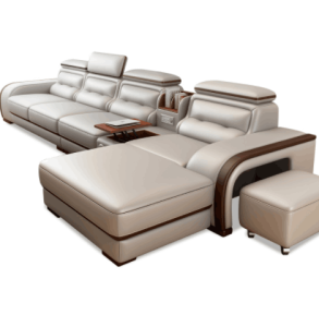 On sales fancy modern new model leather sofa living room furniture