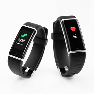 Image of ID130 Plus Color HR Smart Bracelet with Color Screen Pedometer Heart Rate Monitor Sleep Fitness Tracker Smart Wristband