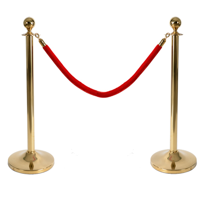 China Fabricage Waarschuwing Post Stanchions Hotel Barrières Voor Vangrail