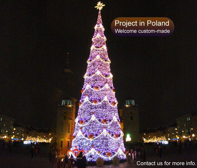 2015 New Large Lighted 3d Outdoor Led Christmas Tree Buy