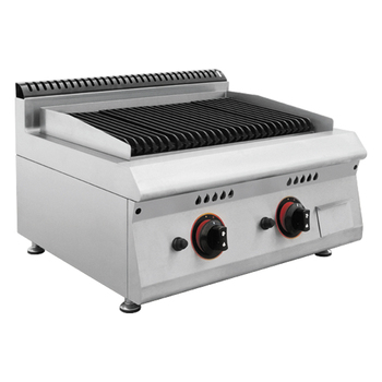 BN600-G606 Professional Lava Rock Gas Barbeque Grill/Indoor Gas BBQ ...