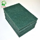 dish washing soft scrub abrasive nylon stainless steel scouring pad sheets roll for polishing brushes