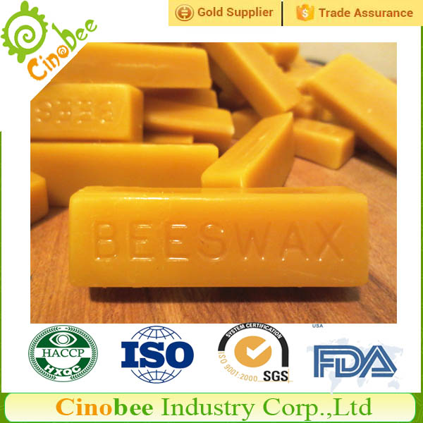 Organic Beeswax with FDA Certificate